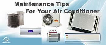 Keep you AC in proper condition by using these tips